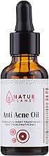 Düfte, Parfümerie und Kosmetik Anti-Akne Gesichtsöl für Problemhaut - Natur Planet Anti Acne Oil