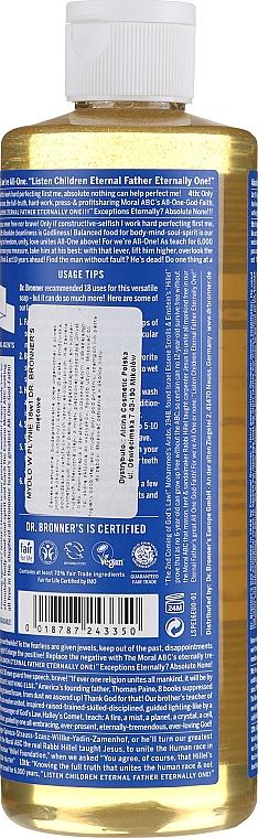 18in1 Flüssigseife mit Pfefferminze für Körper und Hände - Dr. Bronner's 18-in-1 Pure Castile Soap Peppermint — Bild N6