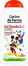 Düfte, Parfümerie und Kosmetik 2in1 Sanftes Duschgel und Shampoo für Kinder Mickey Maus - Corine De Farme Mickey