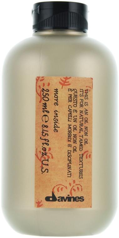 Entfettetes Öl für widerspenstiges Haar - Davines Oil Non Oil More Inside — Bild N2