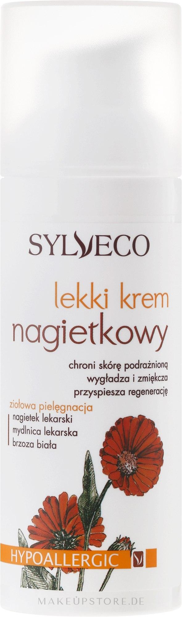 Leichte Gesichtscreme mit Ringelblumenextrakt - Sylveco Face Cream — Bild 50 ml