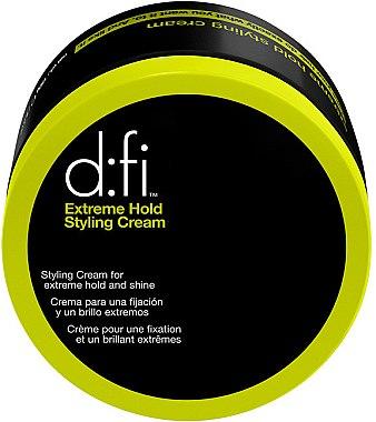 Haarstylingcreme mit starkem Halt und natürlichem Glanz - D:fi Extreme Hold Styling Cream — Bild N1