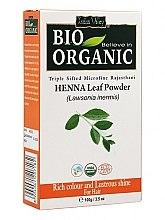 Düfte, Parfümerie und Kosmetik Henna-Pulver zum Haarefärben - Indus Valley Bio Organic Henna Leaf Powder