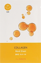 Düfte, Parfümerie und Kosmetik Straffende Tuchmaske für das Gesicht mit Kollagen - The Saem Bio Solution Firming Collagen Mask Sheet