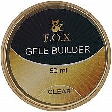 Düfte, Parfümerie und Kosmetik UV Aufbau-Nagelgel transparent - F.O.X Gele Builder UV Clear