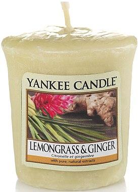 Votivkerze Lemongrass & Ginger - Yankee Candle Lemongrass & Ginger Sampler Votive — Bild N1