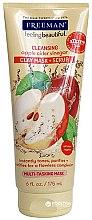 Düfte, Parfümerie und Kosmetik Reinigende Peelingmaske für das Gesicht mit Apfelessig - Freeman Feeling Beautiful 4-in-1 Apple Cider Vinegar Foaming Clay