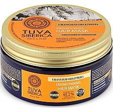 Düfte, Parfümerie und Kosmetik Stärkende Haarmaske mit Sanddornöl - Natura Siberica Tuva Siberica Uranghai Oblepikha Strengthening Hair Mask