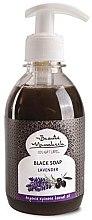 Düfte, Parfümerie und Kosmetik Schwarze Flüssigseife Lavendel mit Arganöl - Beaute Marrakech Argan Black Liquid Soap