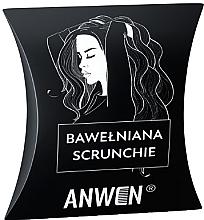 Haargummi aus Baumwolle schwarz - Anwen — Bild N1