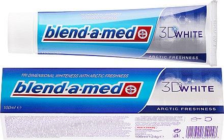 Zahnpasta 3D White Arctic Freshness - Blend-a-med 3D White Arctic Freshness — Bild N1