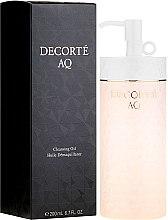 Düfte, Parfümerie und Kosmetik Reinigungsöl für das Gesicht - Cosme Decorte AQ Cleansing Oil