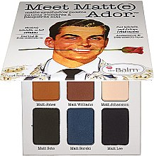 Düfte, Parfümerie und Kosmetik Lidschattenpalette - theBalm Meet Matt(e) Ador Matte Eyeshadow Palette