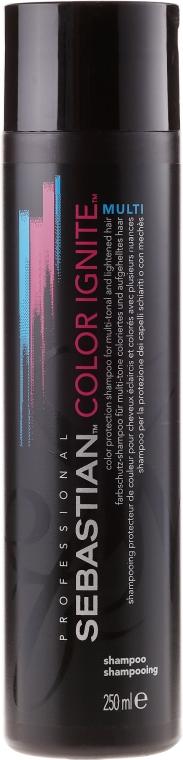 Farbschützendes Shampoo für coloriertes Haar - Sebastian Professional Found Color Ignite Multi Shampoo — Bild N1