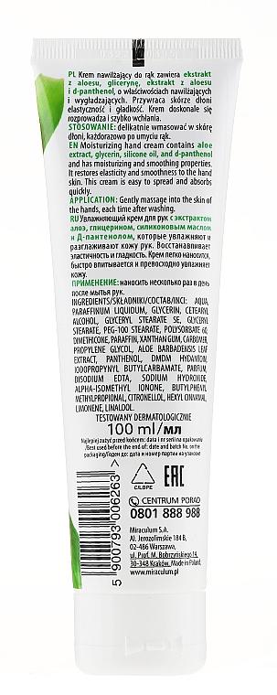 Feuchtigkeitsspendende Handcreme mit Aloeextrakt - Miraculum Gracja Aloe Hand Cream — Bild N4