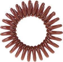Haargummis 3 St. - Cosmetic 2K Hair Tie Brown — Bild N2