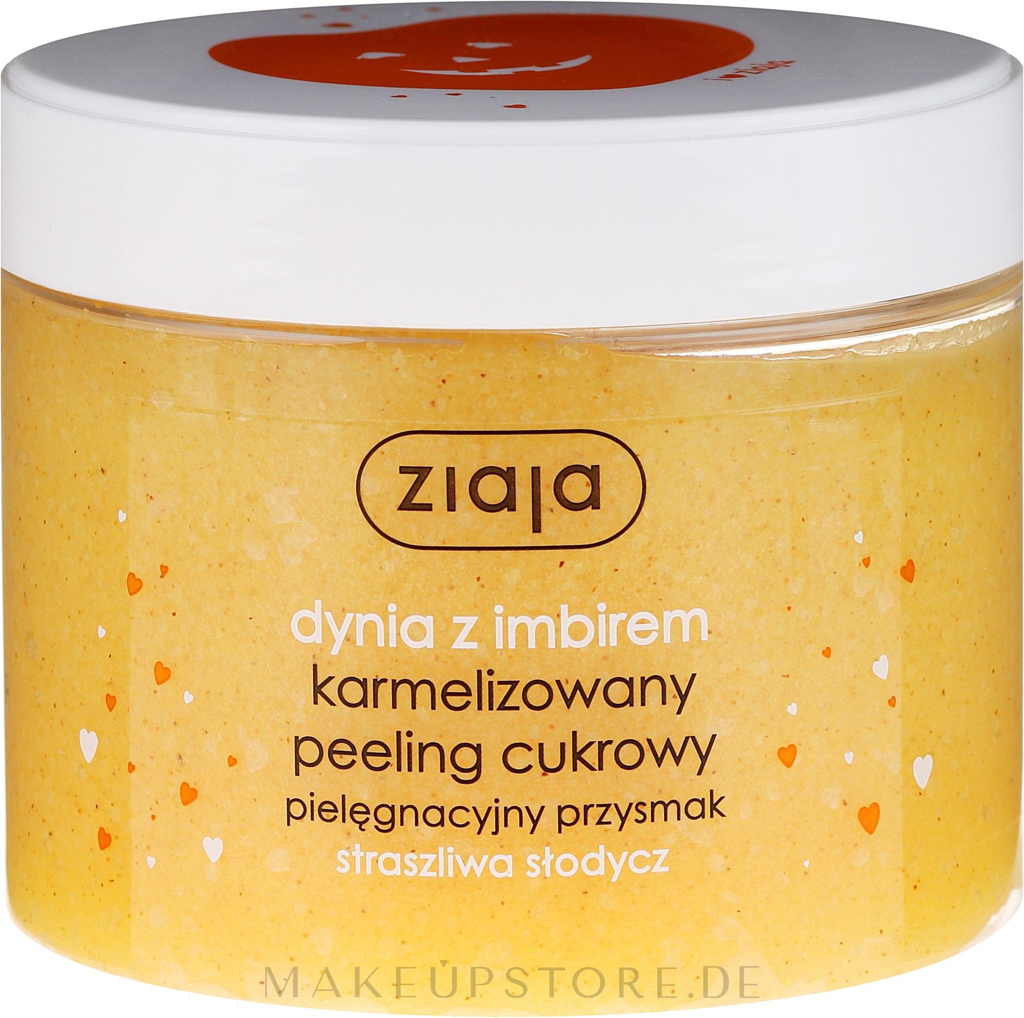 Karamelisiertes Zuckerpeeling für Körper mit Kürbis und Ingwer - Ziaja Sugar Body Peeling — Bild 300 ml