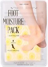 Düfte, Parfümerie und Kosmetik Feuchtigkeitsspendende Fußmaske in Socken gelb - Kocostar Foot Moisture Pack Yellow