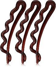 Haarspangen braun 3 St. - Invisibobble Waver Pretty Dark — Bild N1