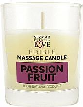 Düfte, Parfümerie und Kosmetik Massagekerze Passion Fruit - Sezmar Collection Passion Fruit