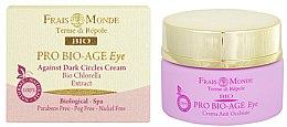 Düfte, Parfümerie und Kosmetik Augencreme gegen dunkle Augenringe - Frais Monde Pro Bio-Age Against Dark Circles Eye Cream