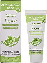 Düfte, Parfümerie und Kosmetik Wundschutzcreme für Babys - Alphanova Baby Natural Eryzinc Nappy Rash Cream