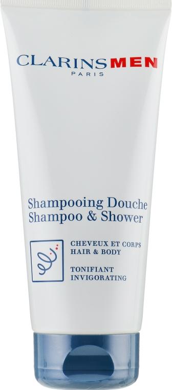 Erfrischendes Haar- und Körpershampoo - Clarins Men Shampoo & Shower — Bild N2