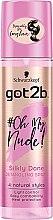 Düfte, Parfümerie und Kosmetik Entwirrendes Pflegespray für seidig glänzendes Haar - Schwarzkopf Got2b Oh My Nude Silkly Done Detangling Spray