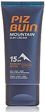 Düfte, Parfümerie und Kosmetik Sonnenschutzcreme für das Gesicht SPF 15 - Piz Buin Mountain Sun Cream SPF15