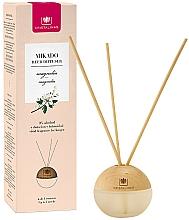 Düfte, Parfümerie und Kosmetik Kugelförmiger Aroma-Diffusor mit Duftstäbchen Magnolie - Cristalinas Mikado Reed Diffuser