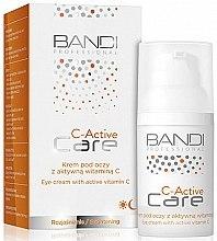 Düfte, Parfümerie und Kosmetik Aufhellende Augencreme mit Vitamin C - Bandi Professional C-Active Eye Cream With Active Vitamin C