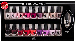 Düfte, Parfümerie und Kosmetik Nagelack-Set - Cosmetic 2K Let'S Get Colourful! (Nagellack 19x3,5ml)