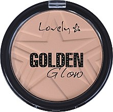 Düfte, Parfümerie und Kosmetik Gesichtspuder - Lovely Golden Glow Powder