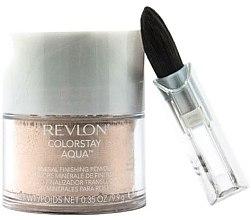 Düfte, Parfümerie und Kosmetik Transparenter Mineralpuder - Revlon ColorStay Aqua Mineral Finishing Powder