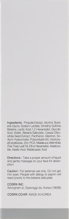 Beruhigendes und reinigendes Gesichtstonikum für Akne-Haut - Cosrx AC Collection Calming Liquid Intensive — Bild N3