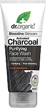 Düfte, Parfümerie und Kosmetik Gesichtsreinigungsgel mit Aktivkohle - Dr. Organic Activated Charcoal Face Wash