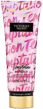Parfümierte Körperlotion - Victoria's Secret Temptation Shimmer Body Lotion — Bild N1