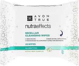 Düfte, Parfümerie und Kosmetik Reinigungstücher für das Gesicht mit Mizellenwasser - Avon Nutra Effects Micellar Cleansing Wipes