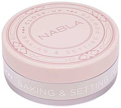 Düfte, Parfümerie und Kosmetik Loser Gesichtspuder - Nabla Close-Up Baking Setting Powder