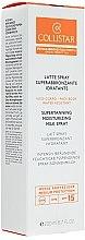 Düfte, Parfümerie und Kosmetik Intensiv bräunende feuchtigkeitsspenende Spray-Sonnenmilch - Collistar Supertanning Moisturing Milk Spray SPF 15