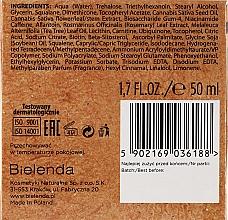 Feuchtigkeitsspendende Entgiftungscreme mit Hanföl - Bielenda CBD Cannabidiol Cream — Bild N3
