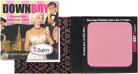 Lidschatten-Rouge - theBalm Shadow-Blush Down Boy — Bild N2