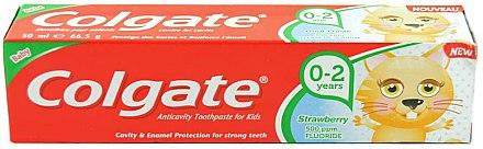 Kinderzahnpasta 0-2 Jahre mit Erdbeergeschmack - Colgate Strawberry Kids Tooth Paste — Bild N1