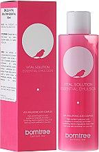 Düfte, Parfümerie und Kosmetik Feuchtigkeitsspendende Gesichtsemulsion mit Hyaluronsäure - Borntree Vital Solution Essential
