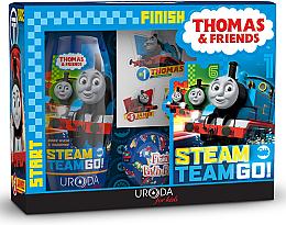 Düfte, Parfümerie und Kosmetik Geschenkset Thomas & Friends - Uroda For Kids (2in1 Duschgel und Shampoo 250ml + Badebombe 100g + Aufkleber)