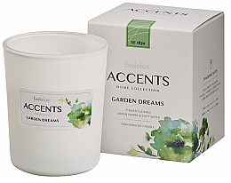 Düfte, Parfümerie und Kosmetik Duftkerze im Glas Garden Dreams - Bolsius Accents 92 mm x Ø76 mm