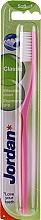 Düfte, Parfümerie und Kosmetik Zahnbürste weich Classic rosa - Jordan Classic Toothbrush