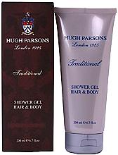 Düfte, Parfümerie und Kosmetik Hugh Parsons Traditional Shower Gel Hair Body - Duschgel für Körper und Haar