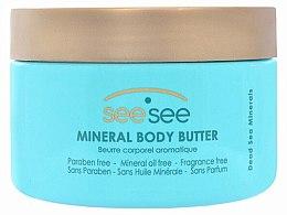 Düfte, Parfümerie und Kosmetik Körperbutter mit Mineralien - See See Mineral Body Butter
