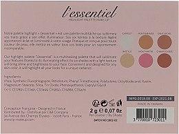 Highlighter-Palette - LP Makeup L'Essentiel Paper Highlight Palette — Bild N3
